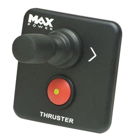 Max Power zwart Bedieningspaneel voor Boegschroef met Joystick